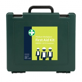 Reliance Medical Medium Workplace Kit BS8599-1:2019 in Green Oxford Box
