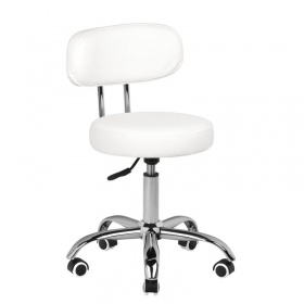 Pedicure & beauty stool white CLEIO