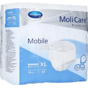 Πάνες ακράτειας βρακάκι MoliCare premium Mobile Extra Large ημέρας 14 τμχ