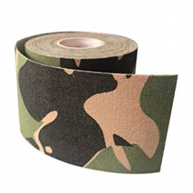 Kinesio tape 5cm X 5m military green