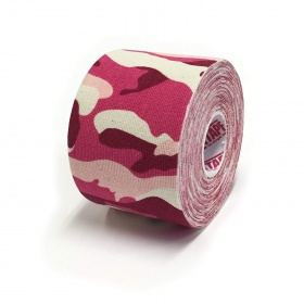 Kinesio tape 5cm X 5m military pink