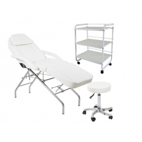 Beauty Kit Chair Kraz+ Stool CETI+ Trolley URSE