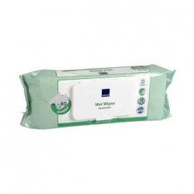 ABENA Wet Wipes – Υγρές Πετσέτες Καθαρισμού 27×20 cm – 80 τμχ