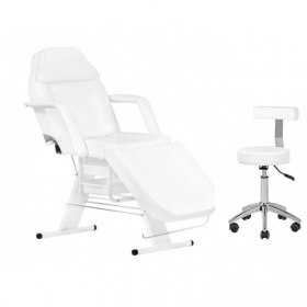 Beauty Kit  APHRODITE WHITE chair & Stool ECONOMY+