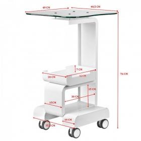 Τρόλεϊ μηχανημάτων MEDICART 082