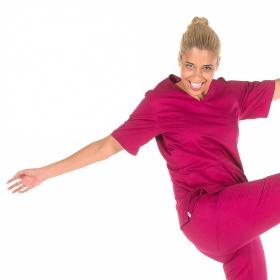 Μπλούζα Ιατρική Unisex Nerea Raspberry