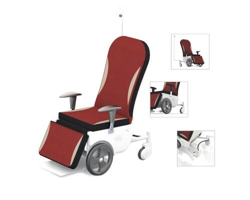 Καρέκλες Μεταφοράς Ασθενών GAMMA Deluxe