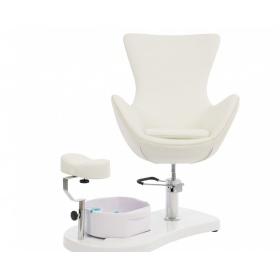 Καρέκλα πεντικιούρ CREM WKS019.A26