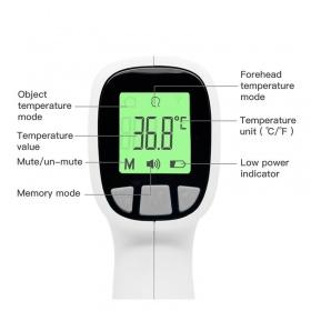 Θερμόμετρο Ανέπαφης Μέτρησης υπερύθρων μετώπου Jumper FR202