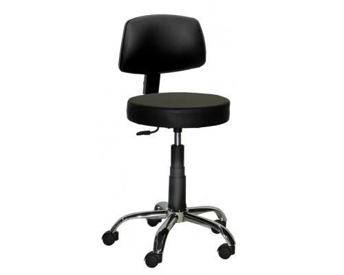 Rotating stool with back villa 1420A