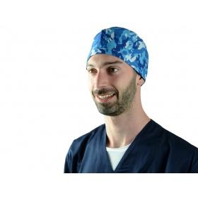 Καπελάκια Υφασμάτινα Χειρουργείου Military blue 20816 M