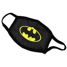 Μάσκα παιδική βαμβακερή πολλαπλών χρήσεων BATMAN