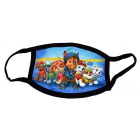Μάσκα παιδική βαμβακερή πολλαπλών χρήσεων PAW PATROL