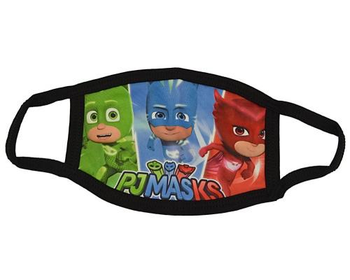 Μάσκα παιδική υφασμάτινη πολλαπλών χρήσεων PJ MASKS