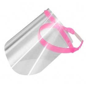 Μάσκα - ασπίδα προστασίας προσώπου PROTECTION ροζ