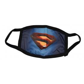 Μάσκα παιδική βαμβακερή πολλαπλών χρήσεων SUPERMAN