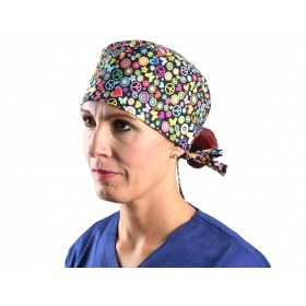 Fabric Surgical Caps Peace 20809 M