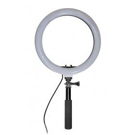 Zomei MultiColor LED Ring Light 10.5' ιντσών ρυθμιζόμενο με Βάση στήριξης