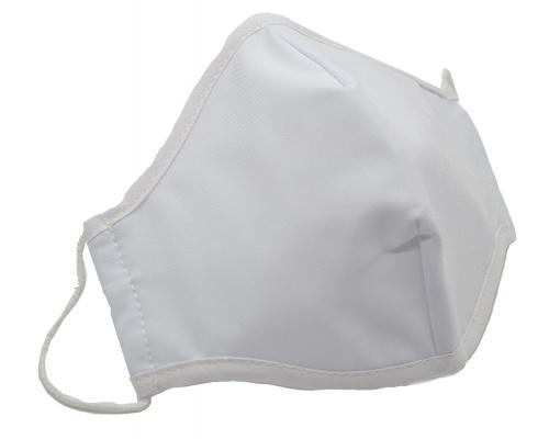Μάσκα προστασίας πολλαπλών χρήσεων Lisa λευκή
