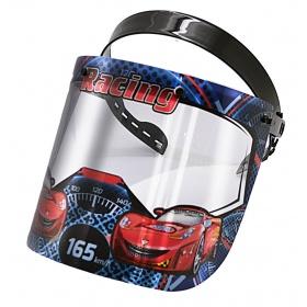 Μάσκα - ασπίδα προστασίας προσώπου παιδική RACING CARS