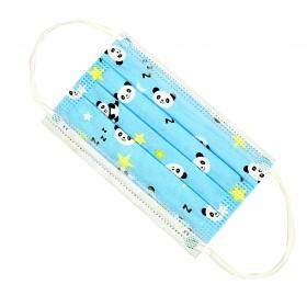 Μάσκες προστασίας παιδικές με λάστιχο SAFE KID BLUE 6-15 ετών 10 τεμάχια