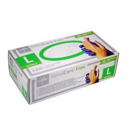 Γάντια εξεταστικά νιτριλίου SENSICARE®  free Medline 200τεμ