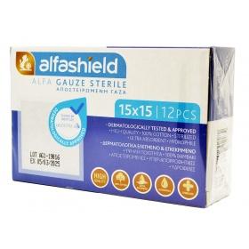 Sterile gauze swabs 15 x 15cm (5x5cm) 12ply 12pcs