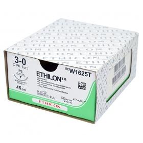 Ράμματα Ethicon Ethilon μη απορροφήσιμα 3/0 26mm 45cm W1625BH