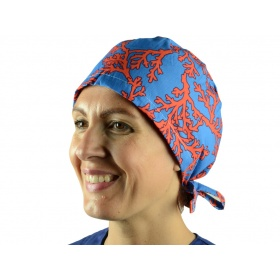 Fabric Surgical Caps Coral 20903 L