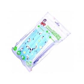 Μάσκες προστασίας παιδικές με λάστιχο για παιδιά SAFE KID BLUE  6-15 ετών 10 τμχ