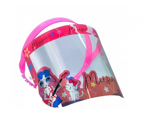 Μάσκα - ασπίδα προστασίας προσώπου παιδική MUSIC