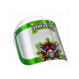 Visor face protection shield for children PIRATES
