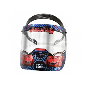 Visor face protection shield for children RACING CARS