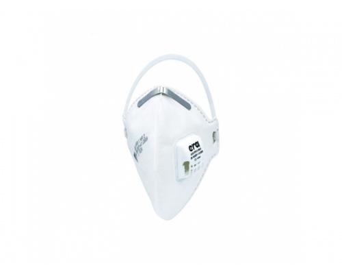 Μάσκα προστασίας FFP3 ERA 4310 με βαλβίδα λευκή, 1 τεμάχιο
