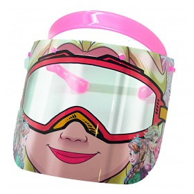 Visor face protection shield for children PRINCESS