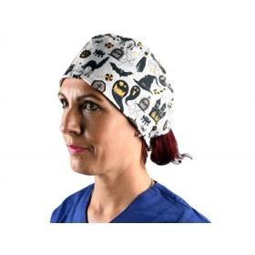 Καπελάκια υφασμάτινα χειρουργείου Halloween 20830 M