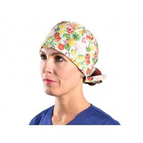 Fabric Surgical CapsFlamingo 20901 L