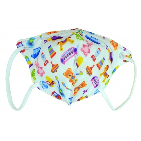 FFP2 (KN95) Respirator Face Mask 1pc for kids toys