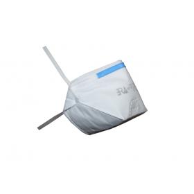 Μάσκα προστασίας FFP2 ERA 1200 χωρίς βαλβίδα λευκή, 1 τεμάχιο