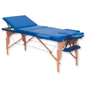 Folding wooden massage table 3-section  44011