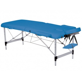 Folding Aluminium massage table 186 x 70 cm 44021
