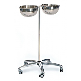 Basin Stand Deluxe double Bowl