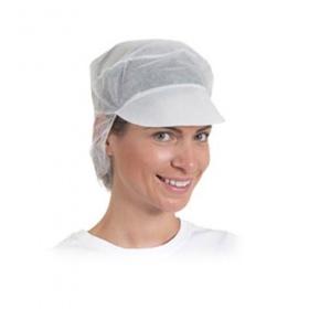 Καπέλο με γείσο και δίχτυ Non Woven 100 τεμάχια