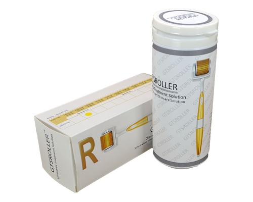 GTS Derma roller για μεσοθεραπεία με 192 βελόνες τιτανίου