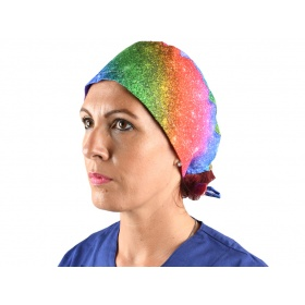 Fabric surgery caps Funny Cap - Bright -20905  L