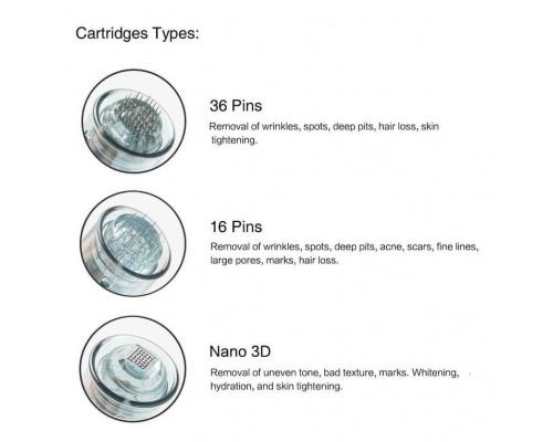 Ανταλλακτική Κεφαλή για Συσκευή Μεσοθεραπείας Microneedling Dr. Pen Ultima M8 16 βελονών