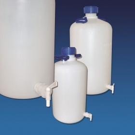 Φιάλες πλαστικές με βρύση Kartell