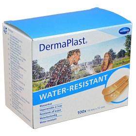 Επιθέματα αυτοκόλλητα μικροτραυμάτων Dermaplast 19mm x 72mm 100 τεμάχια