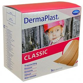 Επιθέματα μικροτραυμάτων Dermaplast Classic Hartmann 6cm x 5m σε ρολό 1 τεμάχιο