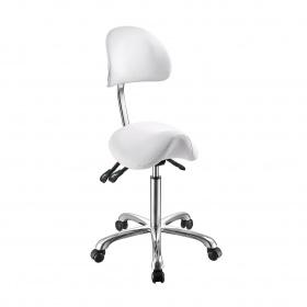 Wheelchair NOBLE 1025A white stool